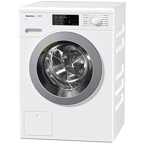Lavadora de carga frontal W1 tambor modelo WCG 120 XL LW, de 9Kg carga, 1600 RPM, A+++, color blanco, 63,6 x 59,6 x 85...