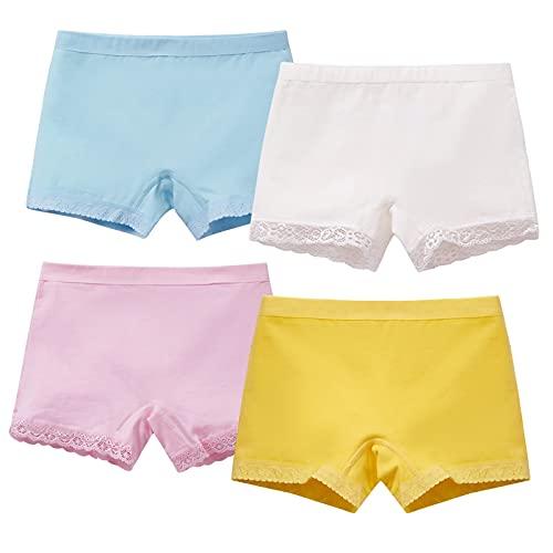 Usex Sense 12er Pack Mädchen Boxershorts Kinder Unterhosen Baumwolle Unterwäsche 2-9 Jahre(3-5 Jahre,2036M)