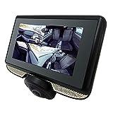 360度 全景撮影 ドライブレコーダー タッチパネル式 スワイプで自由な角度を表示 360° 高画質 駐車監視 ファイルロック機能 3インチモニター