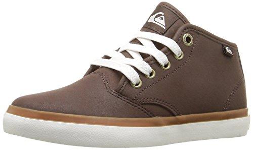 Quiksilver Shorebreak Deluxe MID Skateboard-Schuh für Herren, Braun (braun), 32 EU