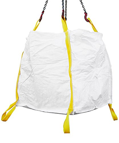 Desabag 1.8005 Big Bag 90x90x90cm, Bodenschlaufen, UU,OG, 1500kg, Weiss