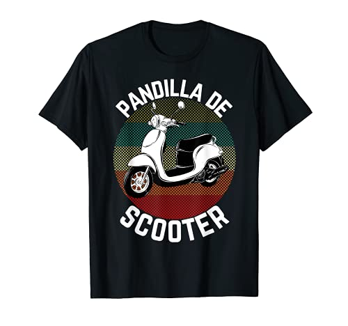 Scooter Gang Retro Vintage Ciclomotor Moto Gear 2 Wheeler Camiseta