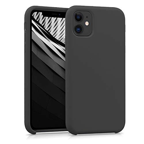 kwmobile Hülle kompatibel mit Apple iPhone 11 - Handyhülle gummiert - Handy Case in Schwarz