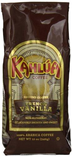 Kahlua Gourmet Ground Coffee, French Vanilla, 12 Ounce