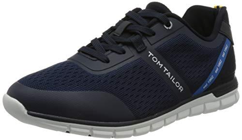 TOM TAILOR Herren 1181902 Sneaker, Navy, 45 EU