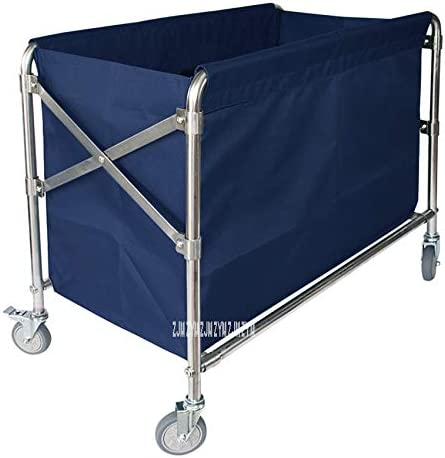 Room Service Folding Trolley Stainless Steel Hotel Special Campaign Storage Clean Max 67% OFF