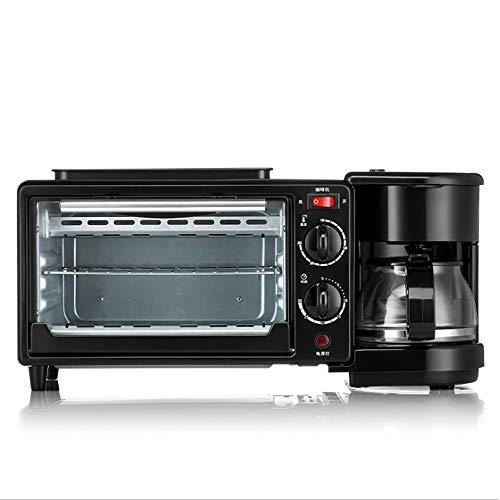 NCBH Mini elektrische oven 3-in-1 multifunctioneel thuis ontbijtmachine geschikt voor toast eierkoffie