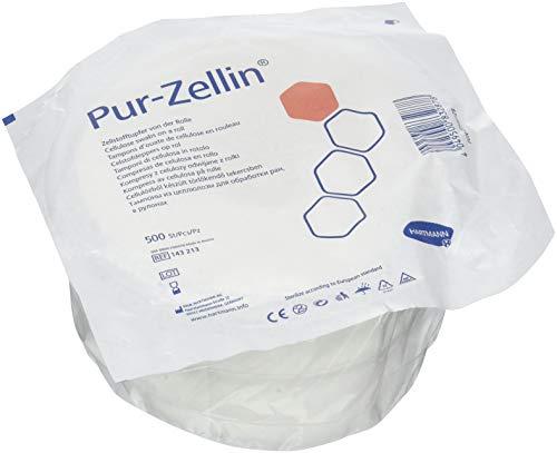 Hartmann Set de 500 Pur-Zellin Tampon de Cellulose en Rouleau 4 x 5 cm