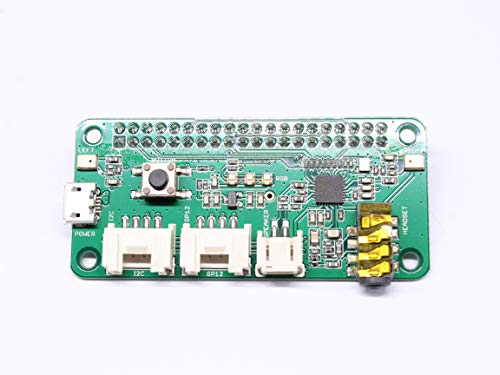 Raspberry Pi Respeaker Intelligent Voice Module Dual Microphone Expansion Board compatible Raspberry Pi Zero 3B+3B Zero W 13