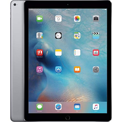 Apple iPad with WiFi + Cellular, 128GB, Space Gray (2017 Model) (Renewed)
