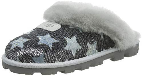 UGG Damen Coquette Sequin Stars Hausschuh, Grey Violet, 38 EU