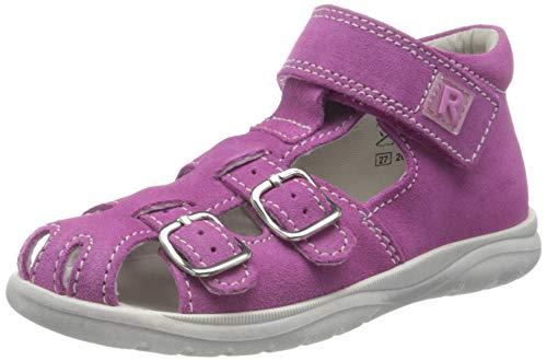 Richter Kinderschuhe Mädchen Babel Geschlossene Sandalen, Pink (Rosette 3310), 25 EU