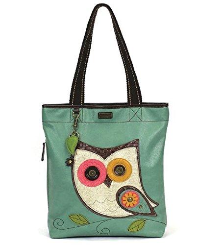 Chala Handbag Everyday Tote (Owl Teal)