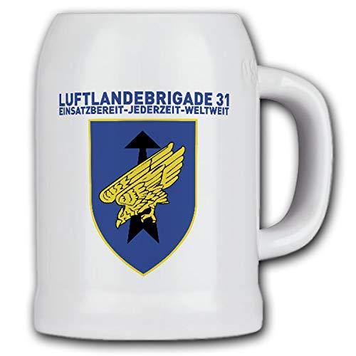LLBrig 31 Luftlandebrigade Wappen Fallschirmjäger Oldenburg Bierkrug #15598