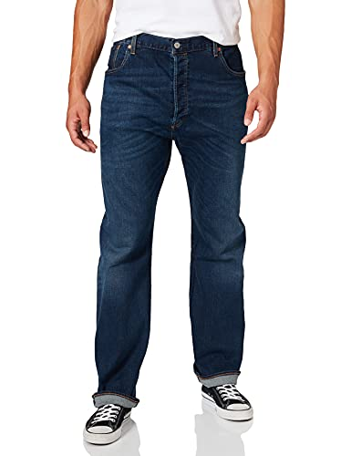 Levi's Big and Tall 501 Levi's Original B&t Jeans, Do The Rump, 46W x 34L Uomo