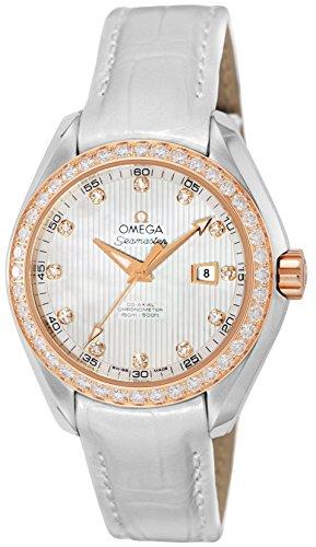 [オメガ]腕時計シーマスタアクアテラコーアクシャル自動巻150m防水12Pダイヤ231.28.34.20.55.002並行輸入品ホワイト