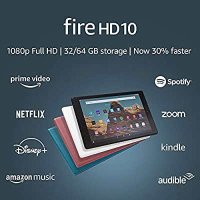 Fire HD 10 tablets for reading comics