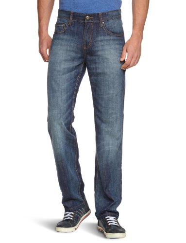 LERROS Herren Jeans Normaler Bund 2319340, Gr. 31/34, Blau (Navy 480)