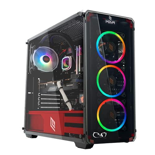 CeO-Tech Omega V1 PC Gaming - CPU AMD Athlon 3000G 3.50 MHz (Unlocked for Overclocking) | RAM 16GB DDR4 | SSD 240GB | Radeon Vega 3 | Ultra HD 4K | Wi-Fi | Windows 10 PRO