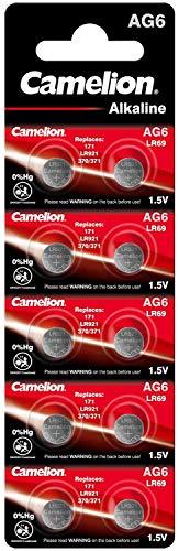Alkaline Knopfzelle CAMELION AG6/LR69/LR921/371