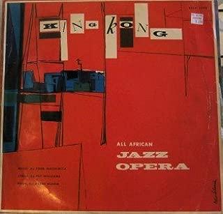 KING KONG (LONDON ORIGINAL CAST LP VINYL, IMPORT, 1961)