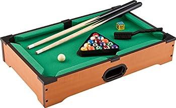 Mainstreet Classics 20-Inch Table Top Miniature Billiard/Pool Game Set