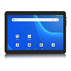 Image of Android Tablet 10 Inch, WiFi Tablet, 16 GB Storage, GMS Certified, Android 8.1 Go, 5Ghz WiFi, Dual Camera, Bluetooth, GPS, OTG - Black: Bestviewsreviews