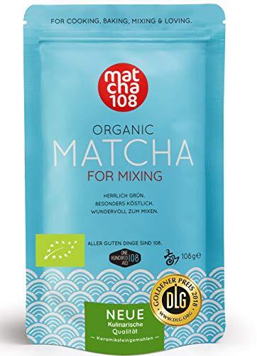 bester der welt Matcha Pulver Tee |  Bio Premium Qualität für dunkelgrünen Tee Aroma |  Großartig für Latte,… 2021