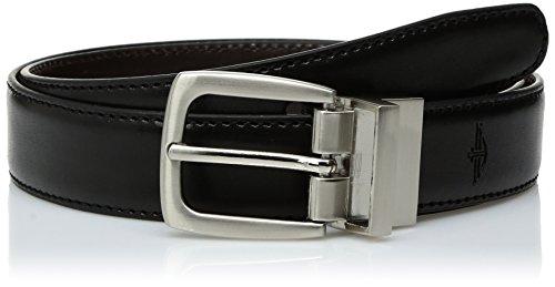 Dockers Boy's Reversible Dress and Casual Belts,Brn/Blk, XL (waist 34' - 36')