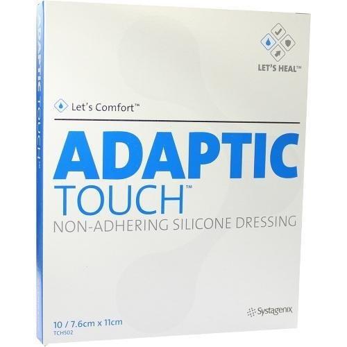 Adaptic Touch 7.6 cm x 11 cm Wundgaze, 10 St.