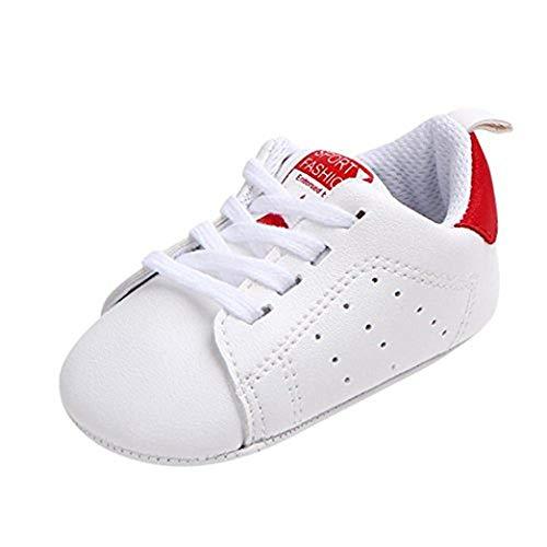 LukyTimo - Zapatillas de recién nacido para niños y niñas de 3 a 18 meses - Casual Negro Size: 18-24 mesi