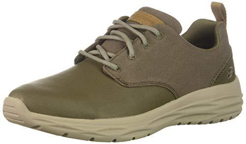 Skechers Hombres Zapatos de Vestir, Khk, Talla 11
