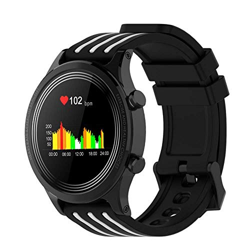 ZHICHUAN el Reloj de Manera Inteligente E5 Hombres Mujeres Exhibición Impermeable Ip68 Smartwatch Tiempo Presión Arterial Frecuencia Cardíaca Salud Sports Tracker de Sangre exquisit