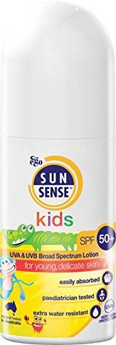 SunSense Kids SPF50 + Childrens Sunscreen, Transparent White, 50 millilitre
