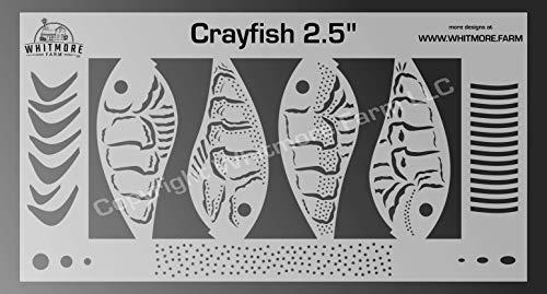 Whitmore Farm LLC Crayfish Fishing Lure Airbrush...