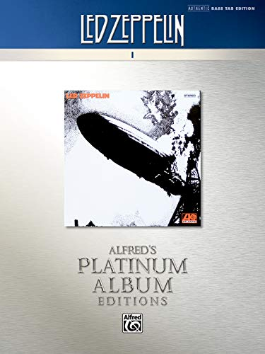 Led Zeppelin - I: Authentic Bass Tab: I Platinum Edition