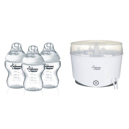 Tommee Tippee Closer to Nature Baby Bottle - 3pk