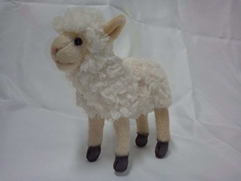 Hansa Little Lamb Plush Animal Toy, 7, Cream by Hansa