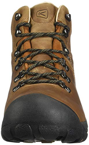 KEEN Men's Pyrenees MID WP-M Hiking Boot, Syrup, 10.5