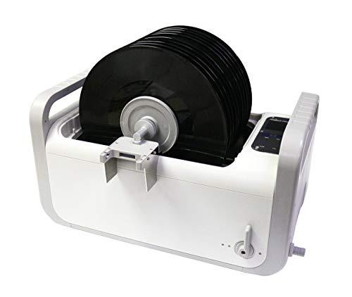 LifeBasis 7.5L Professioneller CD-4875 Digitaler Ultraschallreiniger Ultraschall Schallplattenreiniger Record CD 35kHZ 410W mit Schallplattenhalter und Abflussrohr MEHRWEG