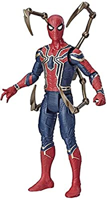 "Avengers Marvel Iron Spider 6""-Scale Marvel Super Hero Action Figure Toy"