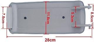 comprar comparacion Cubierta tapa de la consola central THG polipiel Gray Apoyabrazos (Por favor confirmar formar el tama?o de la imagen)