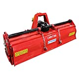 """Titan Attachments Lightweight Rotary Tiller 72"""" Category 1 & 2 3-Point Hitch"""