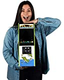Quarter Arcades Official Galaxian 1/4 Sized (17 Inches Tall) Mini Arcade Cabinet by Numskull – Playable Replica Retro Arcade Game Machine – Micro Retro Console