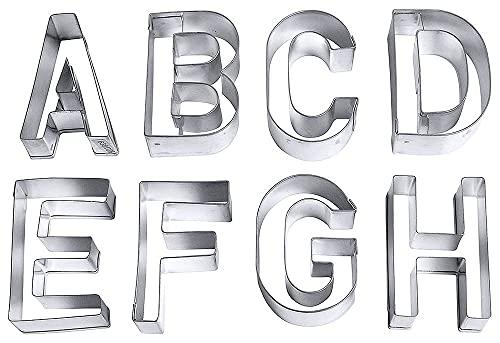 Contacto Bander - Set di 26 formine, motivo: lettere