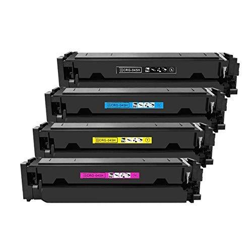 ENCRE BREIZ® 4 Toners Compatibles remplacent 045H pour Canon i-Sensys MF633cdw MF635cx LBP611cn LBP613cdw MF631cn, imageCLASS MF632cdw MF634cdw LBP612cdw