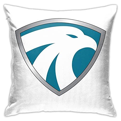 WH-CLA Pillowcase Legendborne Heroic Icon Interiores De Cojines De Coche Sofá Dormitorio Cremallera Impresa Regalos De Cumpleaños Sofá Silla Fundas De Cojines Personalizadas Fundas De ALM