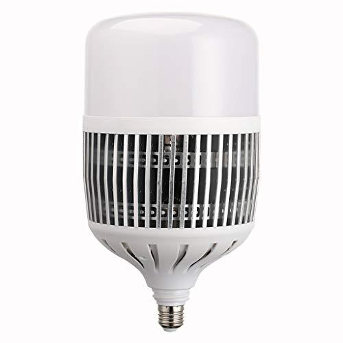 Teri Deckenventilator Energiesparende LED-Birne E27 Schraube Home High-Power-Birne, Home Werkstatt Fabrik Lichtquelle Deckenventilator Licht (Color : 50W)