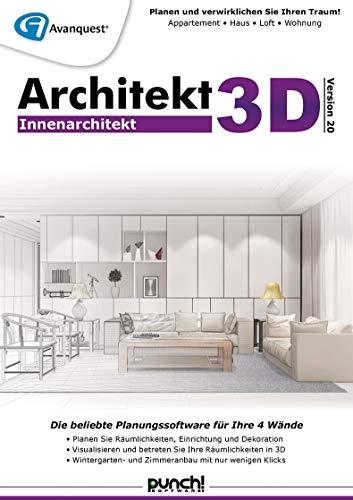 Architekt 3D 20 Innenarchitekt | Innenarchitekt | PC | PC Aktivierungscode per Email