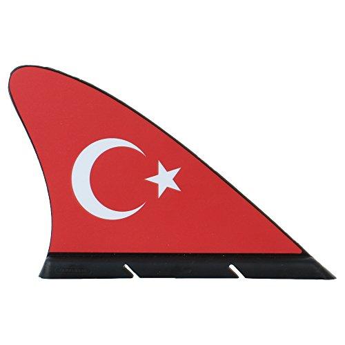 Fanflosse Türkei fürs Auto - Fan-Haifisch Flosse für Ihr Auto
